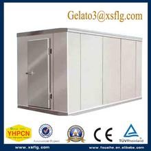 Prefabricada fría habitaciones refrigerador con cerradura
