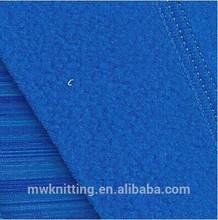 space dye polar fleece fabric of polyester