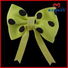 Lovely 2014 New Design Dog Hair Bow Clip For Decoration