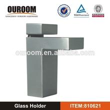 China Manufacture F Designed Zinc Alloy Glass Clip