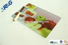 apple Fruit Decorative Glass Cutting Board