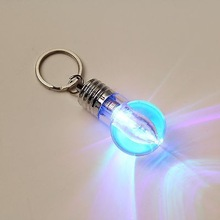 LED Flashlight Light Bulb Key Ring Keychain Lamp Torch