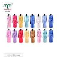 Adult Shawl Collar Bath Robe 100% cotton