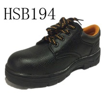SM, oil resistant workmen used iron toe & midsole industrial safety shoes rubber sole