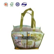 Chidren's love cute cartoon laminated pp non woven shopping bag