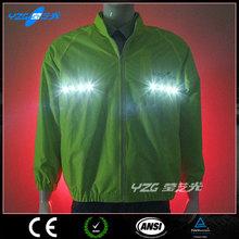 High vis safety reflective jacket