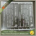 cartão de convite de máquinas de impressão transparente de convite de casamento convite e design de cartão
