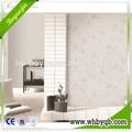 Esticada claro eco- amigável pvc revestido de papel de parede de venda para a decoração da casa para impressão jato de tinta