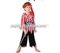 Piratas de la caribe traje de inspiración modificado de los niños piratas de tejidos de punto los niños ropa ropa