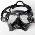 Pesca submarina máscara, Ultra bajo interna volumen, Pesca submarina ojos