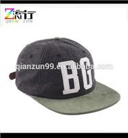 Cheap Plain Leather Strap Snap Back Hats