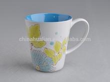 ceramic beer mug with colorful design for promotional,Classic Words Ceramic Coffee Mug,2015 Brand New Writing ceramic MUG
