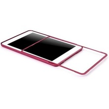 For ipad mini Aluminum Metal Case Bumper Case for ipad mini Snap-on Case
