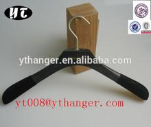 black tops wooden hanger custom deluxe hanger dark stained hanger
