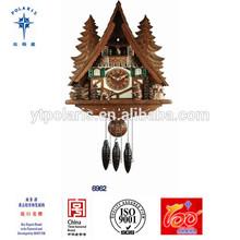 Yantai Polaris modern resin wooden Germany mini Cuckoo clock antique cuckoo clocks