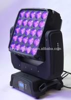 hotsales led 25 PCS 4IN1 15W matrix beam moving