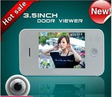 "3.5"" Digital Door Eye Viewer 3.2 inch, Luxury, Clear image&Wide angle, Easy change battery, Digital Door Viewer FDL-V350"