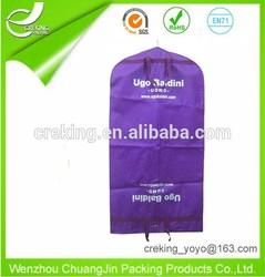 Custom Printed Garment Folding Suit Bag For Men sleeping bag suit