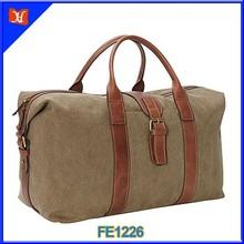 2015 China Wholesale canvas duffel travelling bag,canvas duffle bag,sports bag