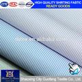 Camisas de venta al por mayor de tejidos de hilados teñidos de alta quanlity de poliéster de algodón tela de la camisa 8632- 1,2