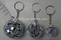 Hotsales Gifts Mirror Ball Keychain Manufacturer
