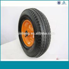 "Wheelbarrow Solid Rubber Wheel 10"" X 2"" Made In China"