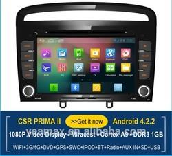 2 Din Autoradio with GPS 1024x600 HD Digital TFT with 3G WIFI