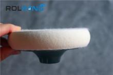 de la mano de lijado bloque con velcro discos