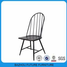 modern metal wood restaurant french chair