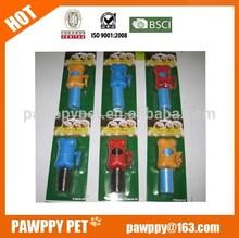 Plastic dog waste bags pet poop bag on roll with bone dispenser