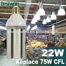 2015 innovative hps replacement 22w retrofit led corn lamp e27