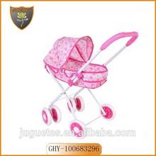 nuovo arrivo per la ragazza baby doll passeggino ruote con materiale di sicurezza