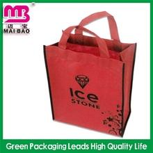 for packaging custom print long handled nonwoven nylon shop bag