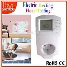 Simple exploité chauffage par le sol Thermostat prise