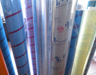 pvc plastic film sheet in roll