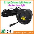 Elf de luz de navidad luces al aire libre del proyector láser/de navidad al aire libre luces de láser