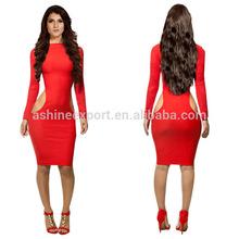 2014 Dress Women Bodycon New Sexy Vestidos De Fiesta Bandage Evening Woman And Girl Party Dress Cutting KM039