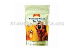 plastic pet protein packaging pocket