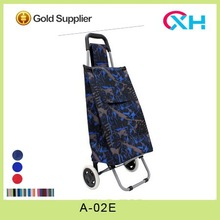 ECO friendly trolley bag shopping trolley Shinny