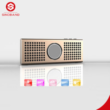 Mini Portable Speaker with Rechargeable Battery and Enhanced Bass Resonator