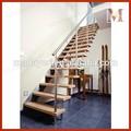 In acciaio inox massiccio legno gradini scale fai da te, disegni scale di legno coperta