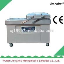 doble cámara de vacío máquina de embalaje para la venta de carne de conejo