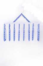 Factory wholesale plastic apparel hanger wooden chrome clips hanger