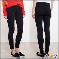 wholesale denim jeans made in china carbon colombian black denim skinny jeans