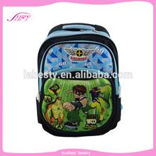 2014 wholesale children school bag animal 3D printed fancy little boy school bag
