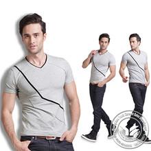 140 grams hot sale 100% bamboo fiber new fashion plain baby t shirt