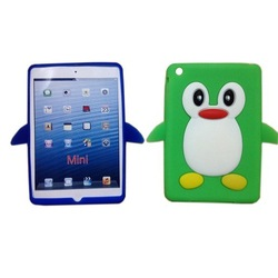 3D Animal Shaped Cute Case for ipad mini Silicone Soft Case Cover