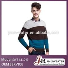 mens sweater jacquard knitting pattern