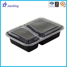 Food container with compartments