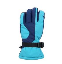 PU palm adjustable wrist 3m thinsulate ski gloves snowboard gloves